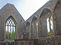 Loughrea Priory Choir East and South Windows 2009 09 17.jpg