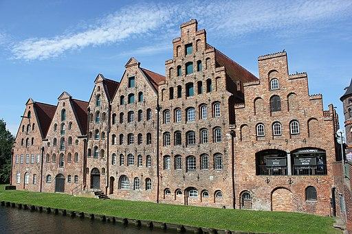 Salzspeicher in Lübeck. Lubeck Spichrze Solne 1