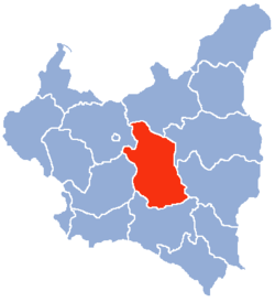 Location of Lublin