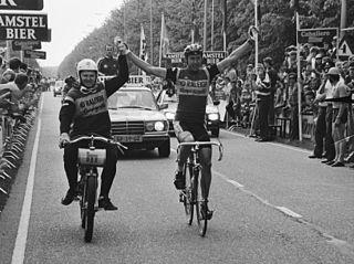 Ludo Peeters Belgian cyclist