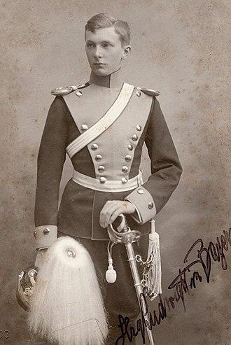 Duke Ludwig Wilhelm in Bavaria (1884–1968) - Image: Ludwig Wilhelm, Duke in Bavaria