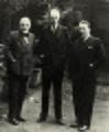 Luigi Pirandello Sinclair Lewis e Arnoldo Mondadori archivi Mondadori AA204892 dettaglio 1.jpg