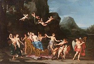 Luigi Quaini - Luigi Quaini, Triumph of Venus and Cupid.