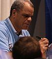 Luis Silverio Autographs a Bowling Ball.jpg