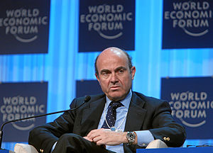 Luis de Guindos - Image: Luis de Guindos Jurado World Economic Forum Annual Meeting 2012