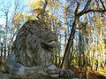 Luke mõisa pargitreopi lõvi.JPG