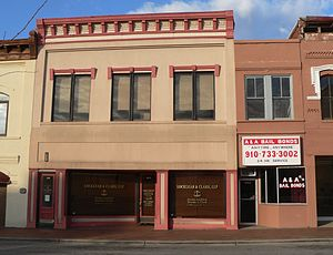 Lumberton Commercial Historic District - Lumberton Commercial Historic District, December 2014