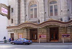 Das Lyceum Theatre in New York City