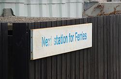 Lymington Town railway station MMB 02.jpg