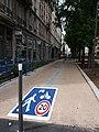Lyon 6e - Boulevard des Brotteaux, zone de rencontre, depuis le cours Lafayette.jpg