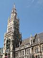 München, de toren van het Neue Rathaus 2012-08-05 14.37.jpg