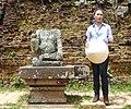 Mỹ Tâm at Mỹ Sơn Sanctuary 5.JPG