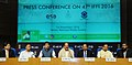 M. Venkaiah Naidu addressing a press conference on 47th International Film Festival of India (IFFI), in New Delhi.jpg