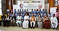M. Venkaiah Naidu with the Students at an event to launch 100 Digital Classrooms in 75 Rural Government Schools in Gwalior district under 'Mera School Digital School' programme by Muskaan Foundation, in Gwalior.JPG