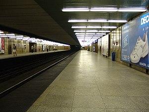 Ecseri út (Budapest Metro) - Image: M3 Ecseri út 1