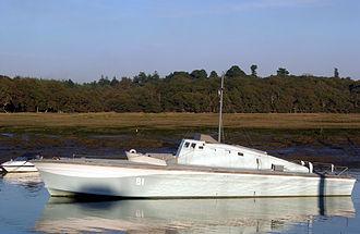 Motor Gun Boat - MGB-81 in Beaulieu River