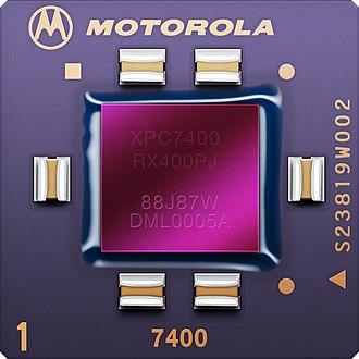PowerPC G4 - Image: MPC7400