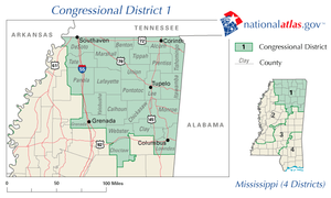 United States House of Representatives elections in Mississippi, 2010 - Mississippi's 1st congressional district in 2010
