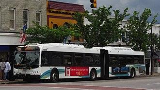 Route 22 (MTA Maryland) - Image: MTA MARYLAND 8027