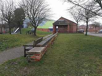Mablethorpe railway station - The former station site at Mablethorpe.