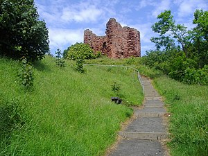 Clan MacDuff - Macduff's Castle, in Fife, Scotland. The site is associated with the MacDuff Earls of Fife