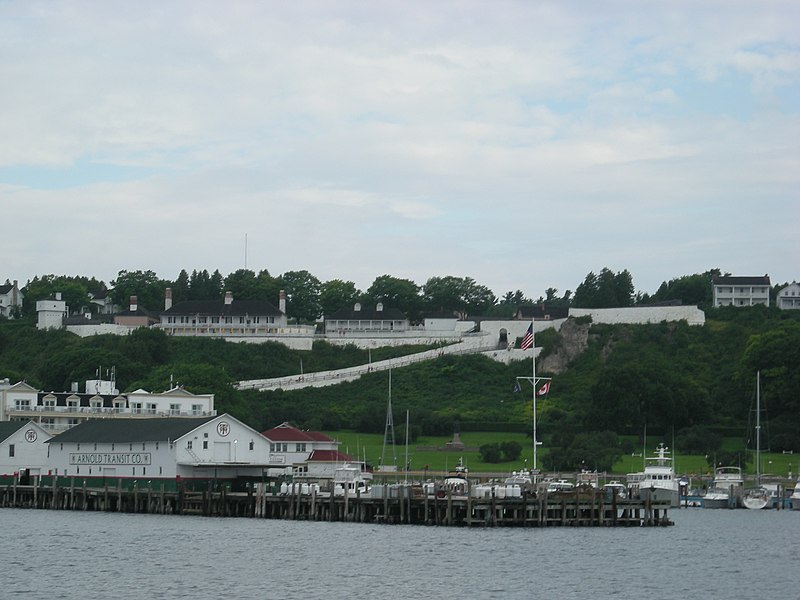 Fort Mackinac on Mackinac Island,