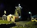 Madhyamaheshwar Temple at night.JPG