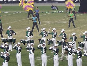 Drum Corps International - The Madison Scouts, a DCI World Class member corps and two-time DCI World Champion