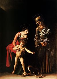 Madonna and Child with St. Anne-Caravaggio (c. 1605-6).jpg