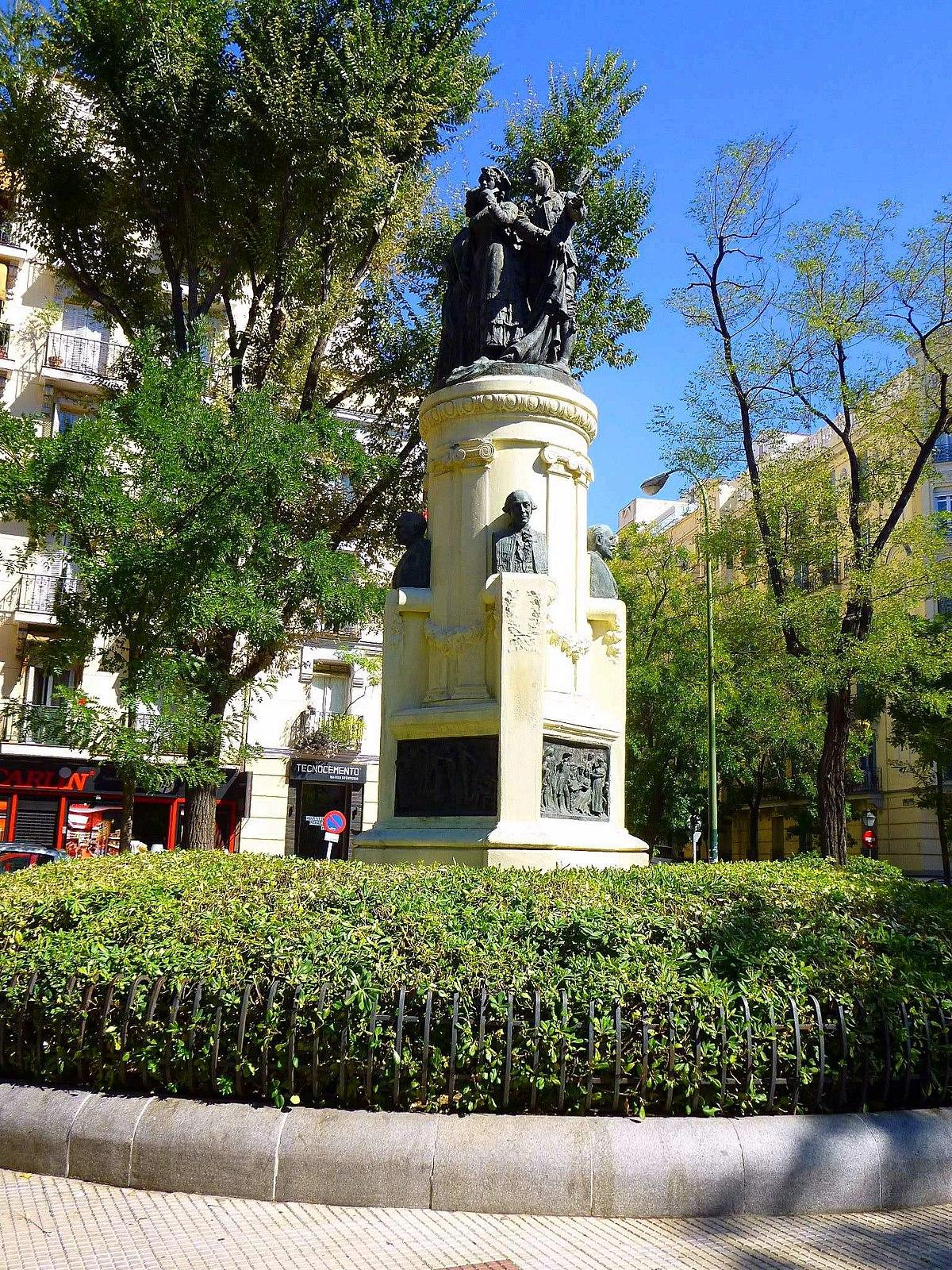Plaza de los chisperos de chamber wikipedia la - Zona chamberi madrid ...
