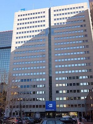 EFE - Image: Madrid sede de la Agencia EFE 1