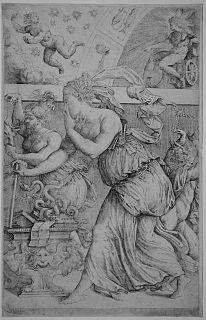 Battista del Moro Italian painter (1512-1573)