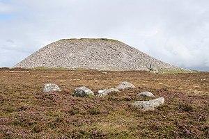 Knocknarea - Meabh's cairn at the summit of Knocknarea