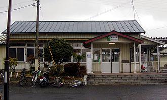 Maeyachi Station - Maeyachi Station in February 2007