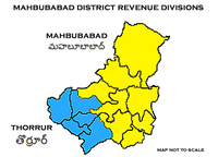 Mahbubabad District Revenue divisions.png