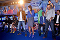Mahesh Bhupathi, Bipasha Basu, Ranbir Kapoor, Sania Mirza, Virender Sehwag, Prannoy Roy at the NDTV Marks for Sports event 06.jpg