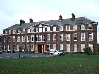 Sutton Bonington - Image: Main Building Sutton Bonington 2011