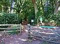 Main entrance to Shrawley Wood - geograph.org.uk - 1484824.jpg