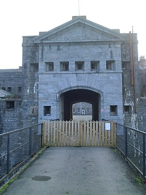 Pembroke Dock - Defensible barracks, gatehouse