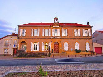 Argancy - The town hall in Argancy