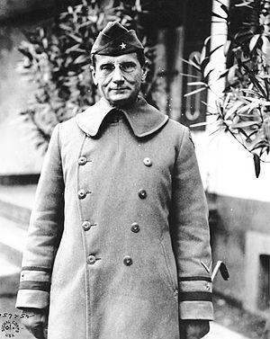 Edwin Burr Babbitt - Edwin Burr Babbitt as a Brigadier general during World War I.