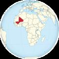 Mali dans le globe terrestre.png