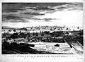 Malta; view from the Cotonera fortifications. Etching by M-A Wellcome L0019023.jpg
