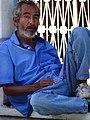 Man in Plaza - Altagracia - Ometepe Island - Nicaragua (31778556256).jpg