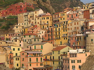 Manarola - Manarola's historic buildings