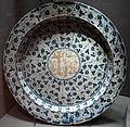 Manises, piatto con trigramma IHS e decoro fitomorfo, 1450 ca..JPG