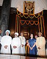 Manmohan Singh, the Chairperson, National Advisory Council, Smt. Sonia Gandhi, the Chairman, BJP Parliamentary Party.jpg