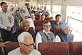 Manmohan Singh travelling in the train from Banihal to Qazigund along with the Chairperson, National Advisory Council, Smt. Sonia Gandhi, the Governor of Jammu and Kashmir, Shri N.N. Vohra, the Union Minister for Railways.jpg