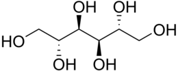 Mannitol structure.png