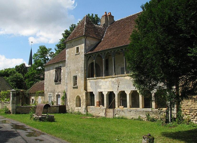 Manoir de Bulcy, Nièvre, France